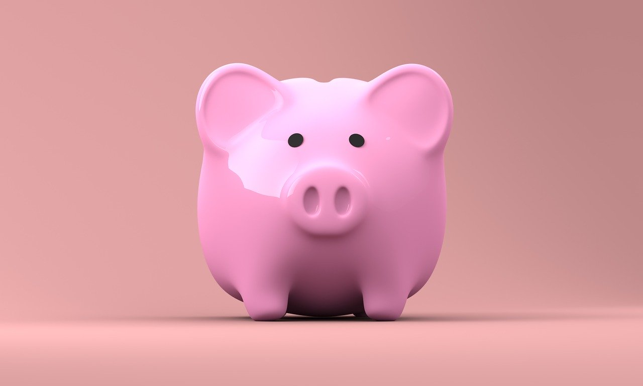 a savings piggy bank